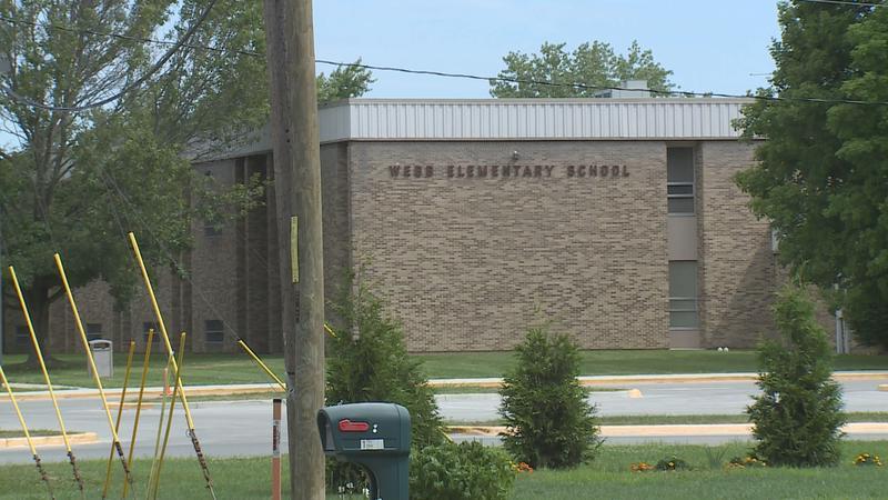 Webb Elementary in Franklin (Steve Burns/Indiana Public Media)
