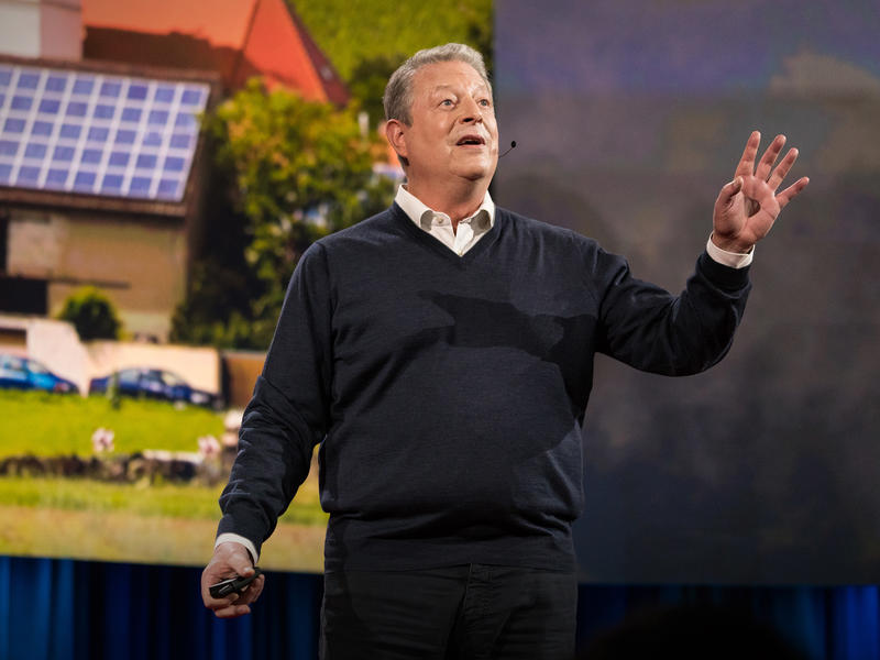 """Optimism blended with courage to face the changes now necessary is just a mature and healthy way of approaching the future."" – Al Gore"