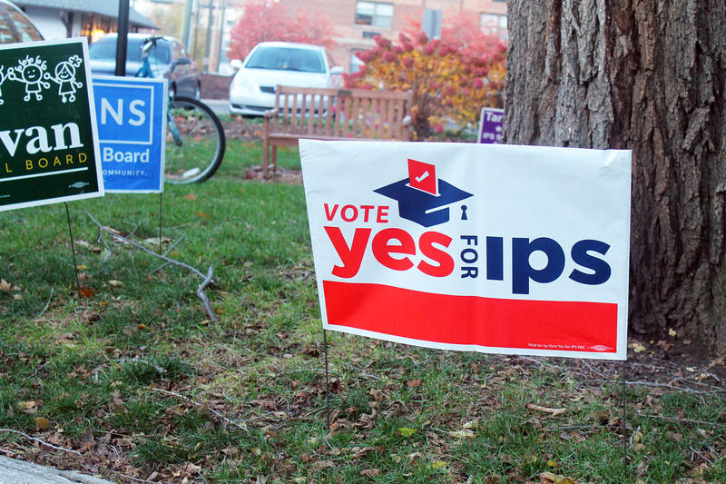 Indianapolis Public Schools was one of 10 school corporations with referenda on the ballot this November, that also won approval from voters. (Lauren Chapman/IPB News)