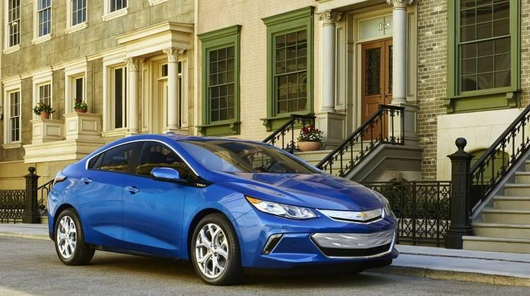 The company said it plans to halt production of the Chevrolet Cruze, Buick LaCrosse, Chevrolet Volt (pictured), Cadillac CT6 and Chevrolet Impala by the end of 2019. (Courtesy of Chevrolet)