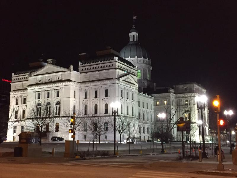"Legislative leaders Tuesday recommended what they call a ""framework"" of a new sexual harassment policy for the General Assembly. (Brandon Smith/IPB News)"