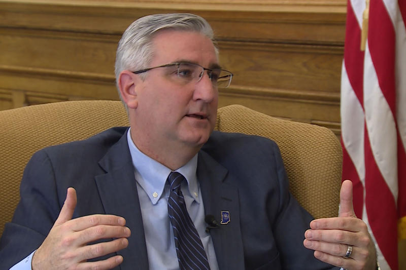 Gov. Eric Holcomb discusses his work in 2018 and looks ahead to 2019. (WTIU)