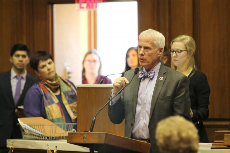 Rep. Bob Behning (R-Indianapolis) is the chairman of the House Education committee. (Lauren Chapman/IPB News)