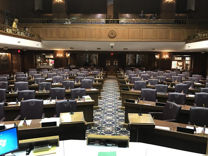 The Indiana House Chamber. (Brandon Smith/IPB News)
