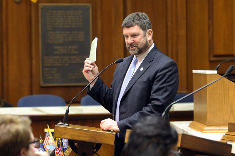 Rep. Jim Lucas (R-Seymour) says his bill would extend the state's