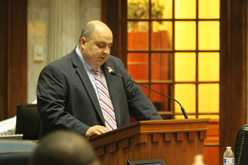 Sen. Jon Ford (R-Terre Haute) authored the bill on carbon dioxide storage. (Lauren Chapman/IPB News)