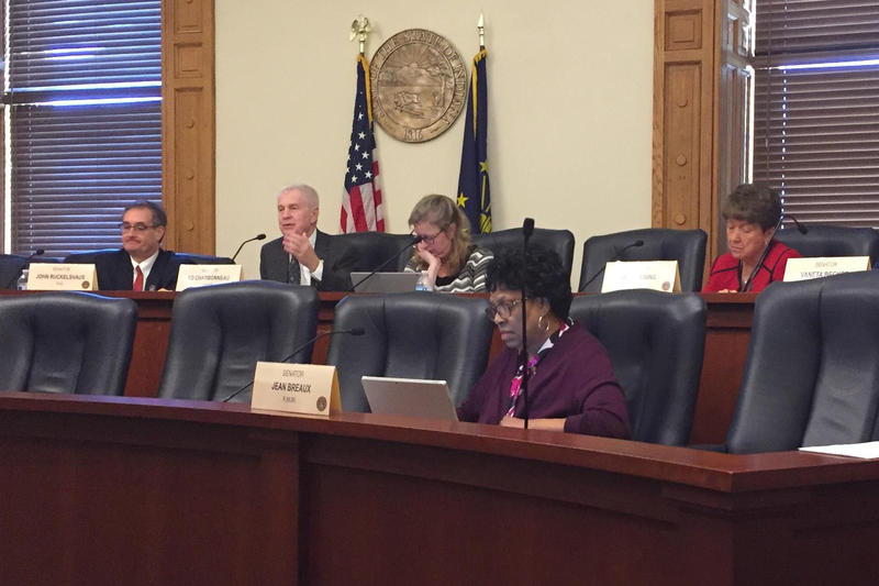 The Senate Health and Provider Services Committee passed the bill unanimously. (Jill Sheridan/IPB News)