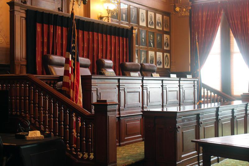Indiana Supreme Court (Lauren Chapman/IPB News)