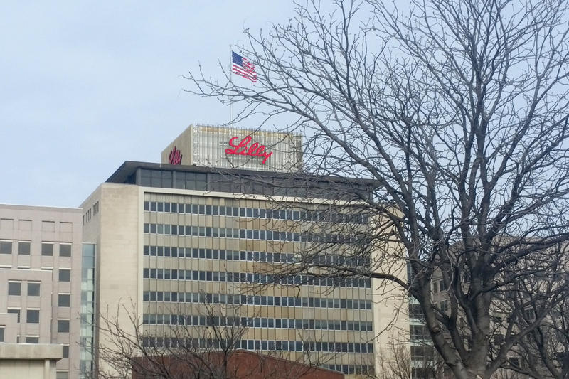 Eli Lilly's headquarters in Indianapolis. (Lauren Chapman/IPB News)