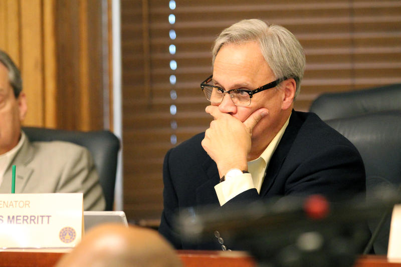 Sen. Jim Merritt (R-Indianapolis) authored a proposal to fund centers in northern, central and southern Indiana and address numerous components involved in recovery. (Lauren Chapman/IPB News)