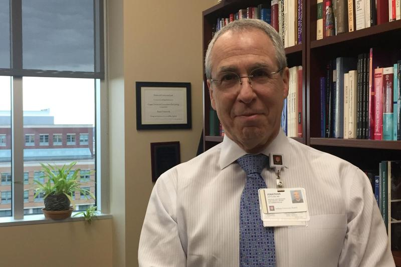 IU Health Chief Medical Executive Jonathan Gottlieb says the system's approach to opioids has allowed prescribers to reassess their practices. (Jill Sheridan/IPB News)