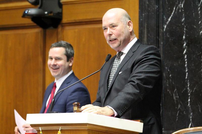 House Speaker Brian Bosma (Lauren Chapman/IPB News)
