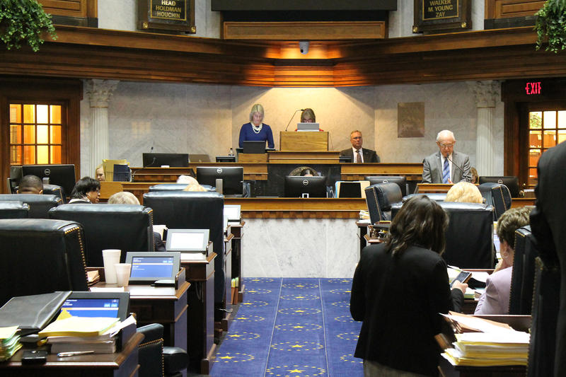 The Indiana Senate (Lauren Chapman/IPB News)