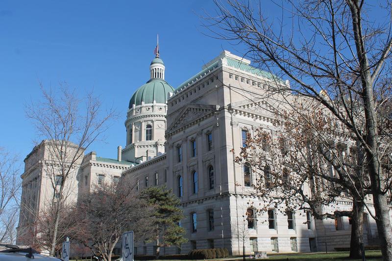 Indiana Statehouse (Lauren Chapman/IPB News)
