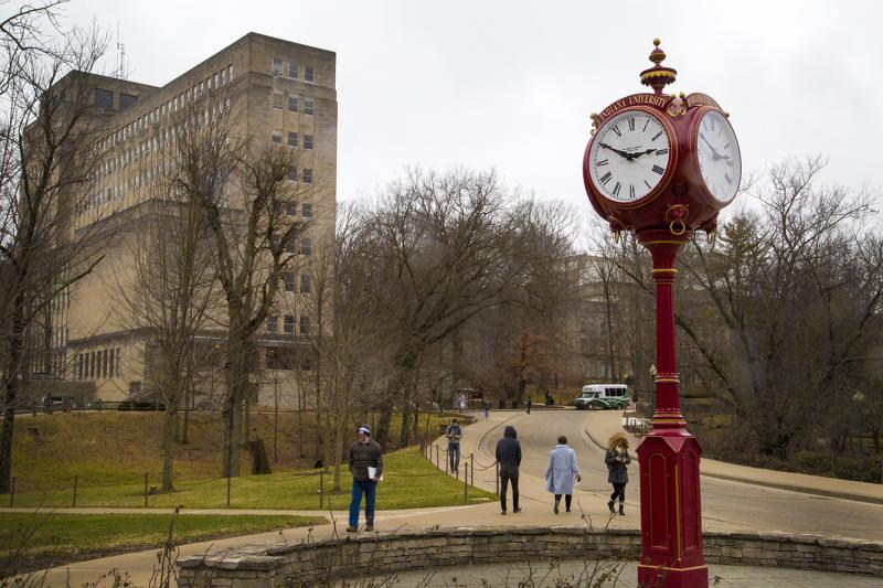 Indiana University campus in Bloomington (Peter Balonon-Rosen/IPB News)
