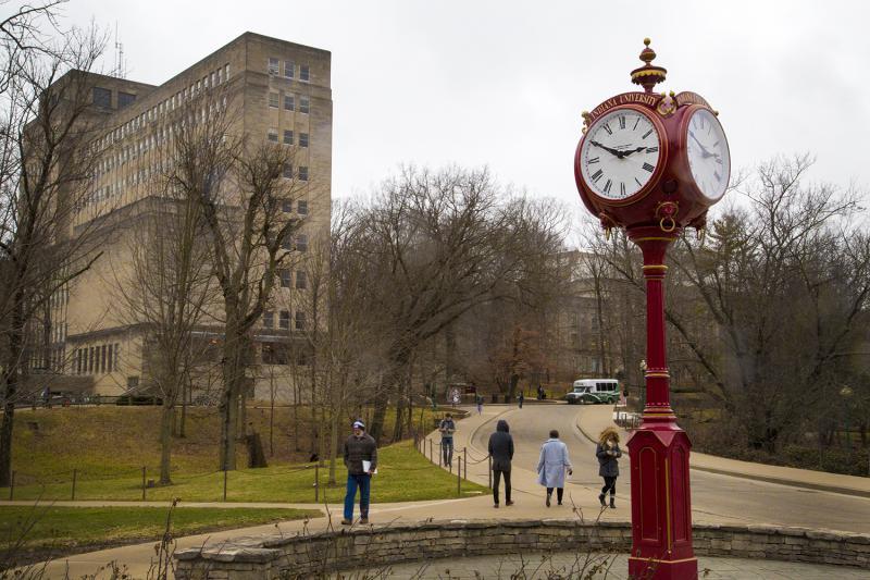 Indiana University campus in Bloomington (Peter Balonon-Rosen/IPB News)