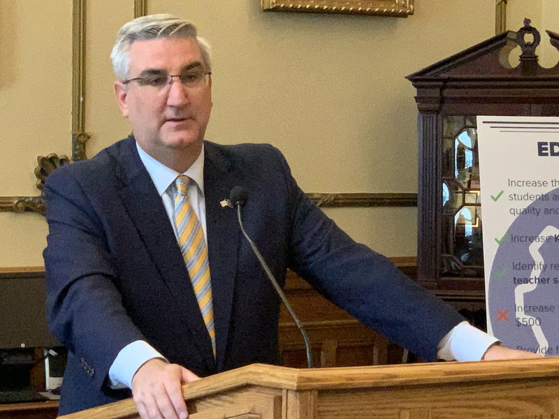 Gov. Eric Holcomb (Brandon Smith/IPB News)