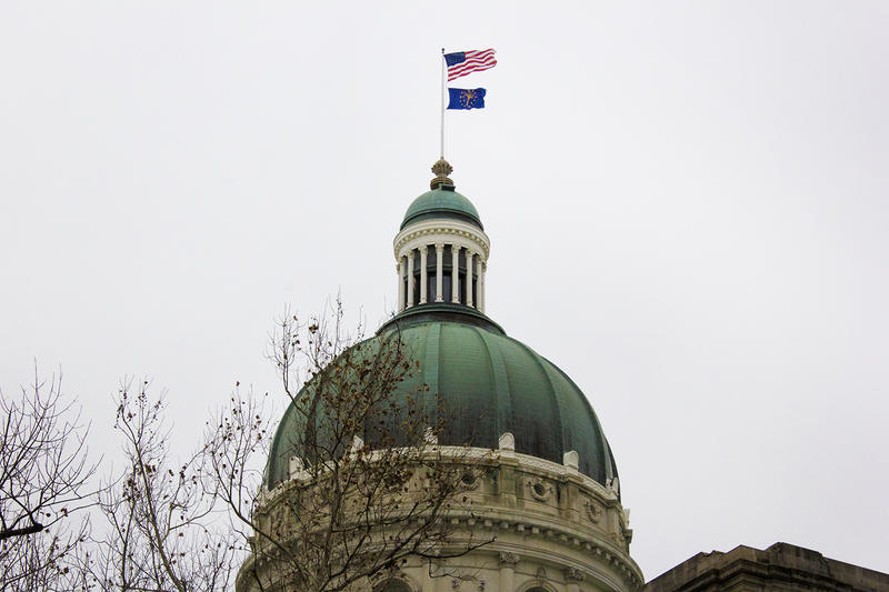The Indiana Statehouse (FILE PHOTO: Peter Balonon-Rosen/IPB News)