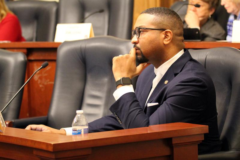 Sen. Eddie Melton (D-Gary) will explore a run for governor. (FILE PHOTO: Lauren Chapman/IPB News)
