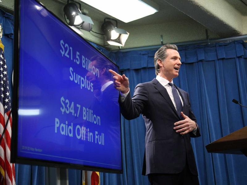 Gov. Gavin Newsom presents his revised 2019 budget proposal.