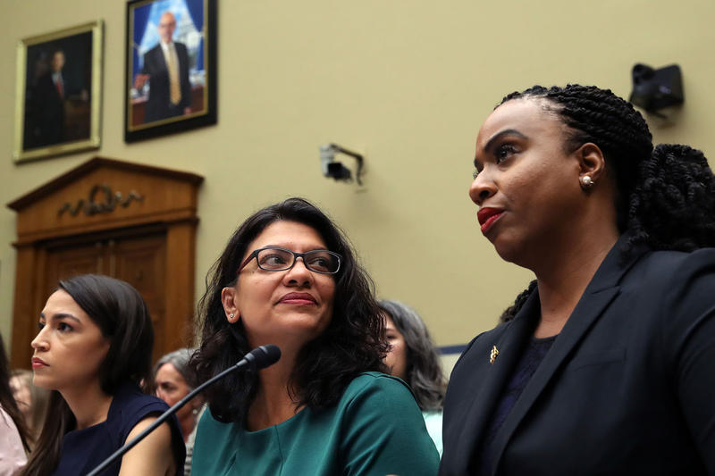 Race And Racism In Washington: Trump Tweets, Democrats' Infighting And More