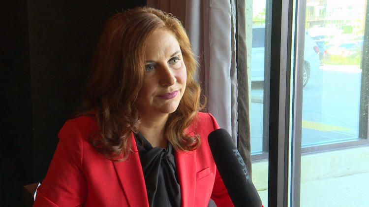 Christina Hale, former Democratic lieutenant governor candidate and state representative, announced her bid for Indiana's 5th Congressional District seat.