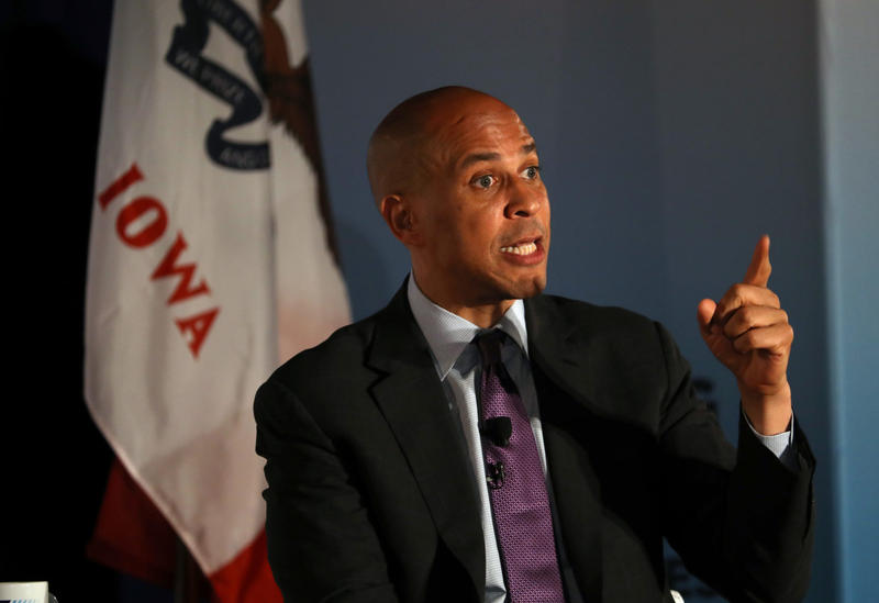 2020 Candidate Sen. Cory Booker: Trump 'Trafficking In Racism' To 'Gain Power'