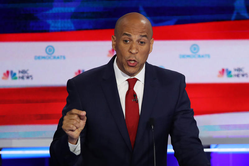 Sen. Cory Booker's Path Forward As A Presidential Candidate