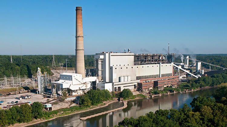 Duke Energy's coal-fired Wabash River plant was officially retired in 2016.