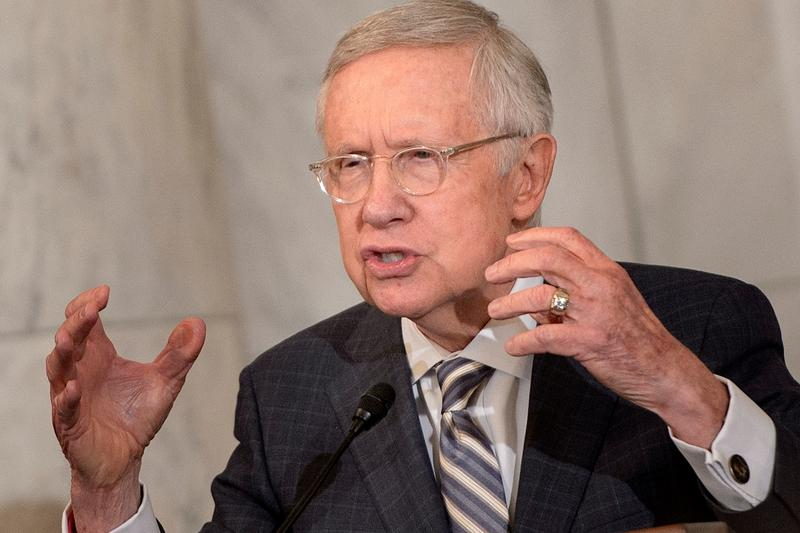 Time To End The Filibuster? Former Senate Majority Leader Harry Reid Weighs In