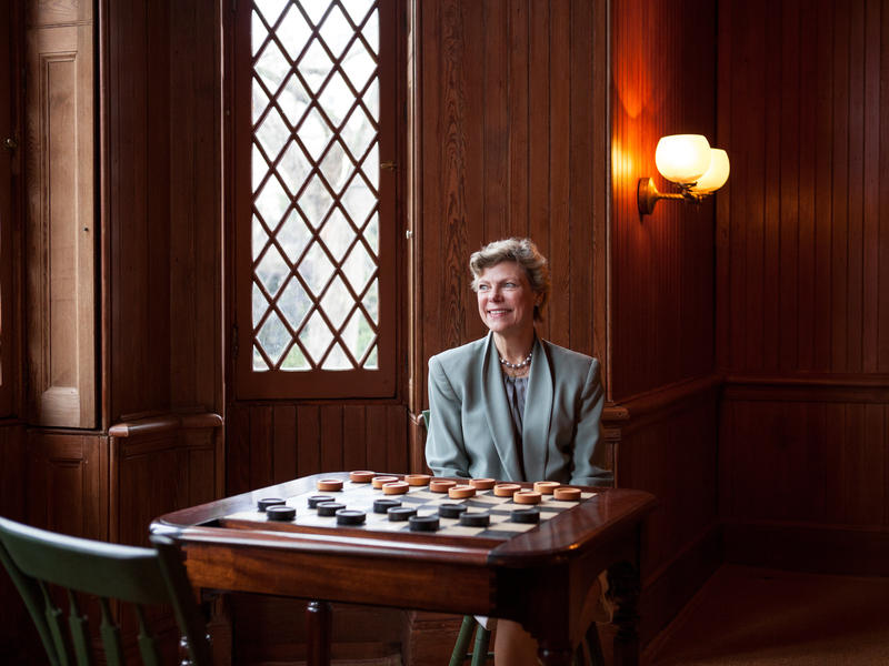 Cokie Roberts was one of NPR's most recognizable voices and is considered one of a handful of pioneering female journalists who helped shape the public broadcaster's sound and culture. She died Tuesday.
