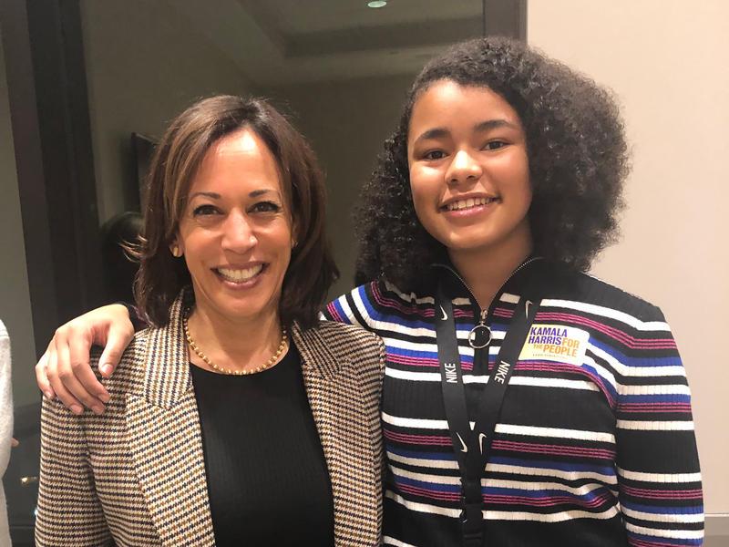 She Ll Look Like A Boss Vice President Elect Kamala Harris Inspires Young Girls Wjct News