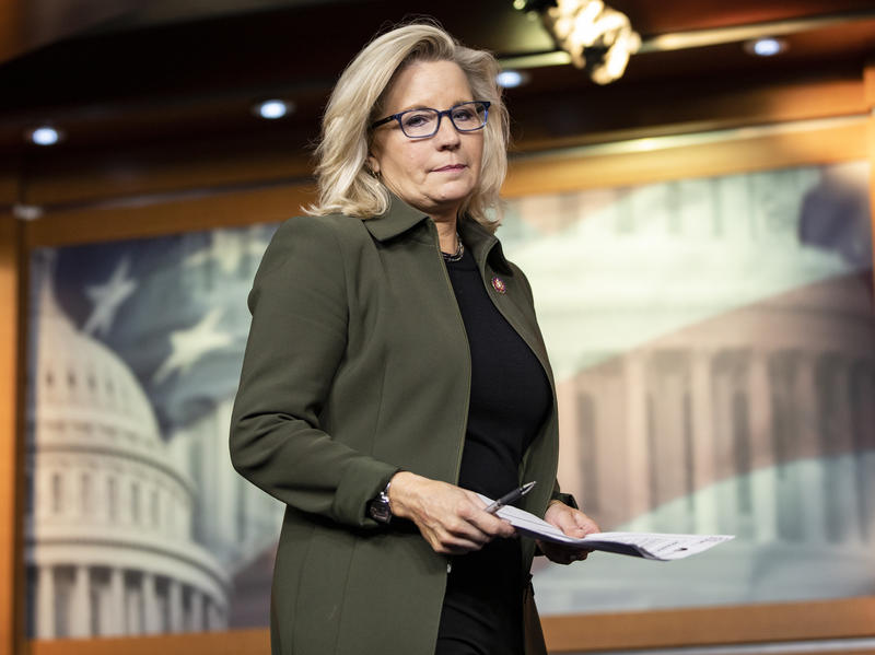 Rep. Liz Cheney is one of 10 Republicans who voted to impeach President Trump on Wednesday.