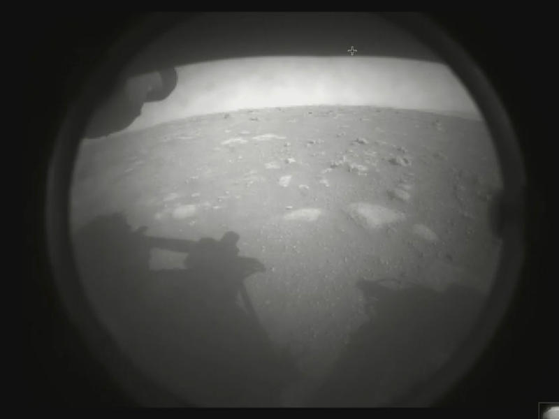 An image from Perseverance, NASA's Mars rover.