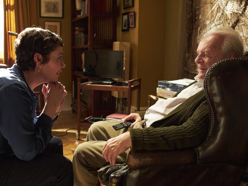 """In """"Father,"""" Anthony Hopkins 'mind plays him and you"""