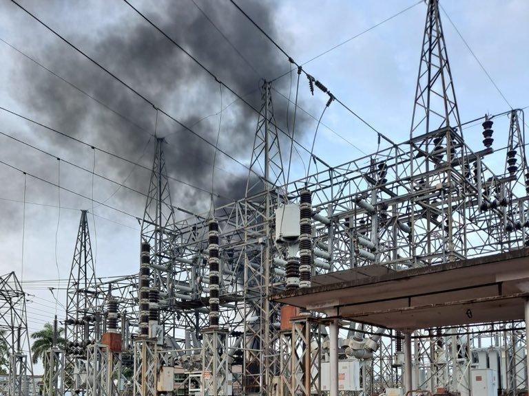A fire at the Luma Energy substation in San Juan knocked out power to hundreds of thousands of residents in Puerto Rico Thursday.