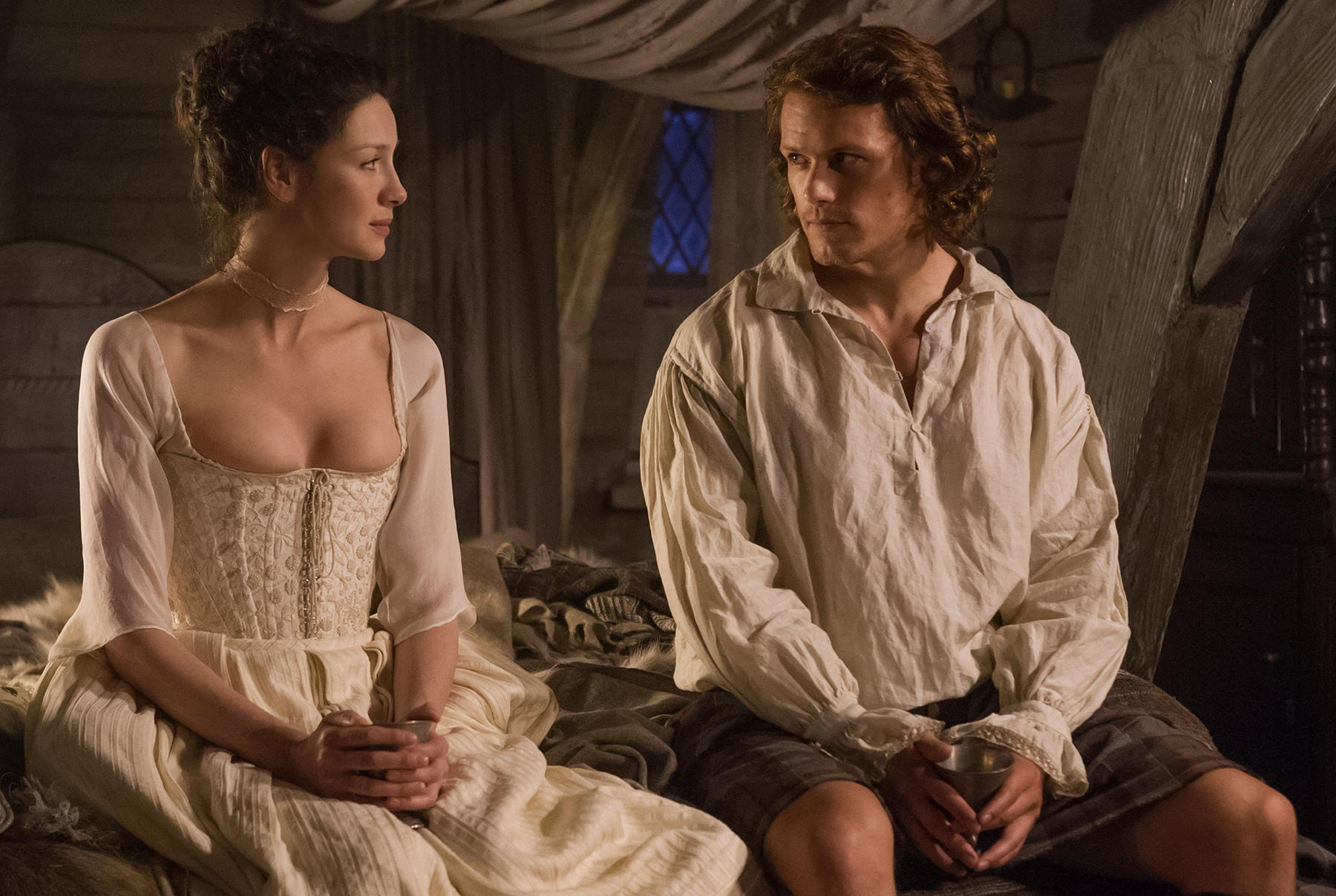 Outlander Star Sam Heughan Offers Hair Care And Haggis Tips Wunc