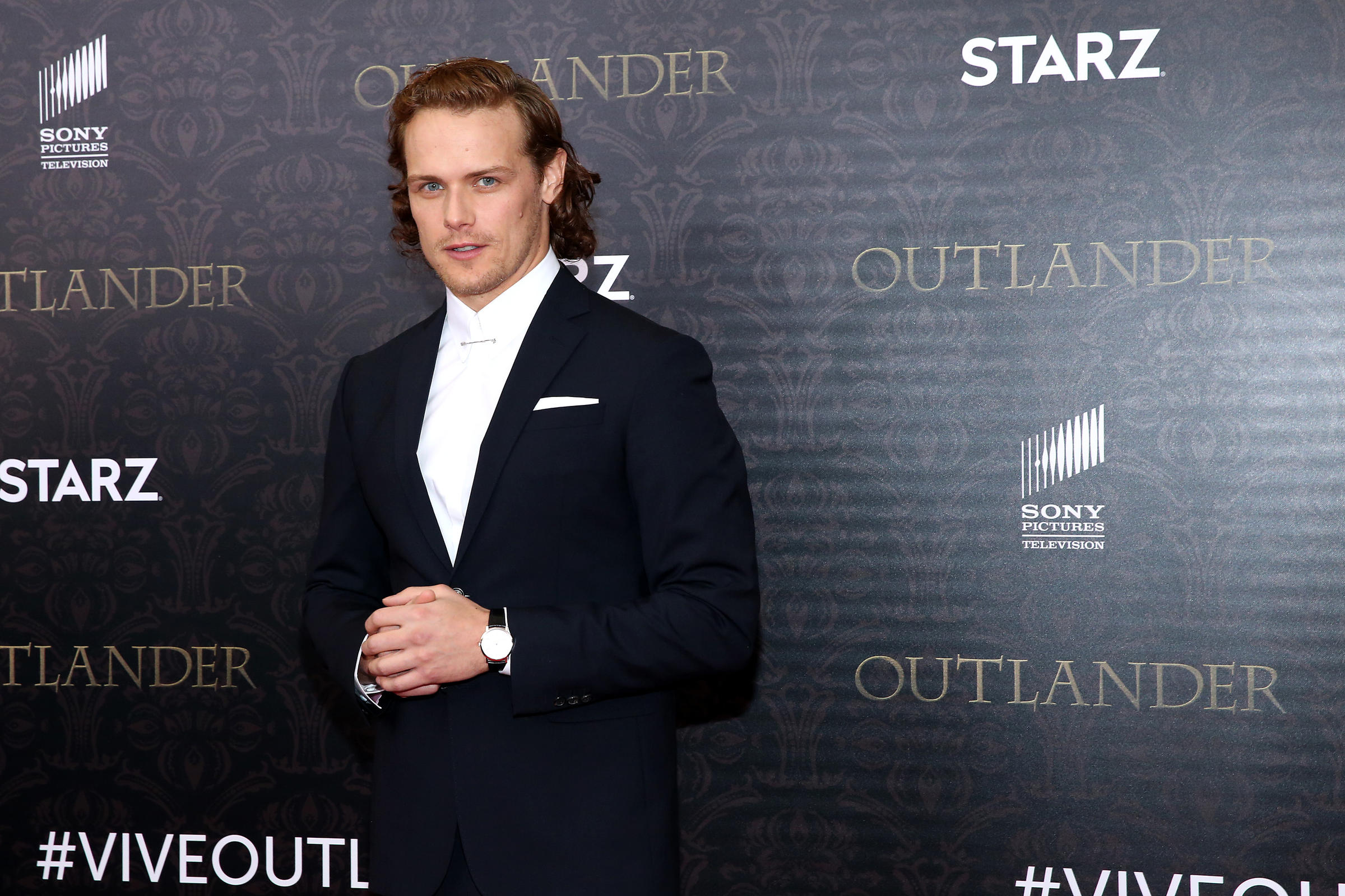 Outlander' Star Sam Heughan Offers Hair Care and Haggis Tips | WUNC