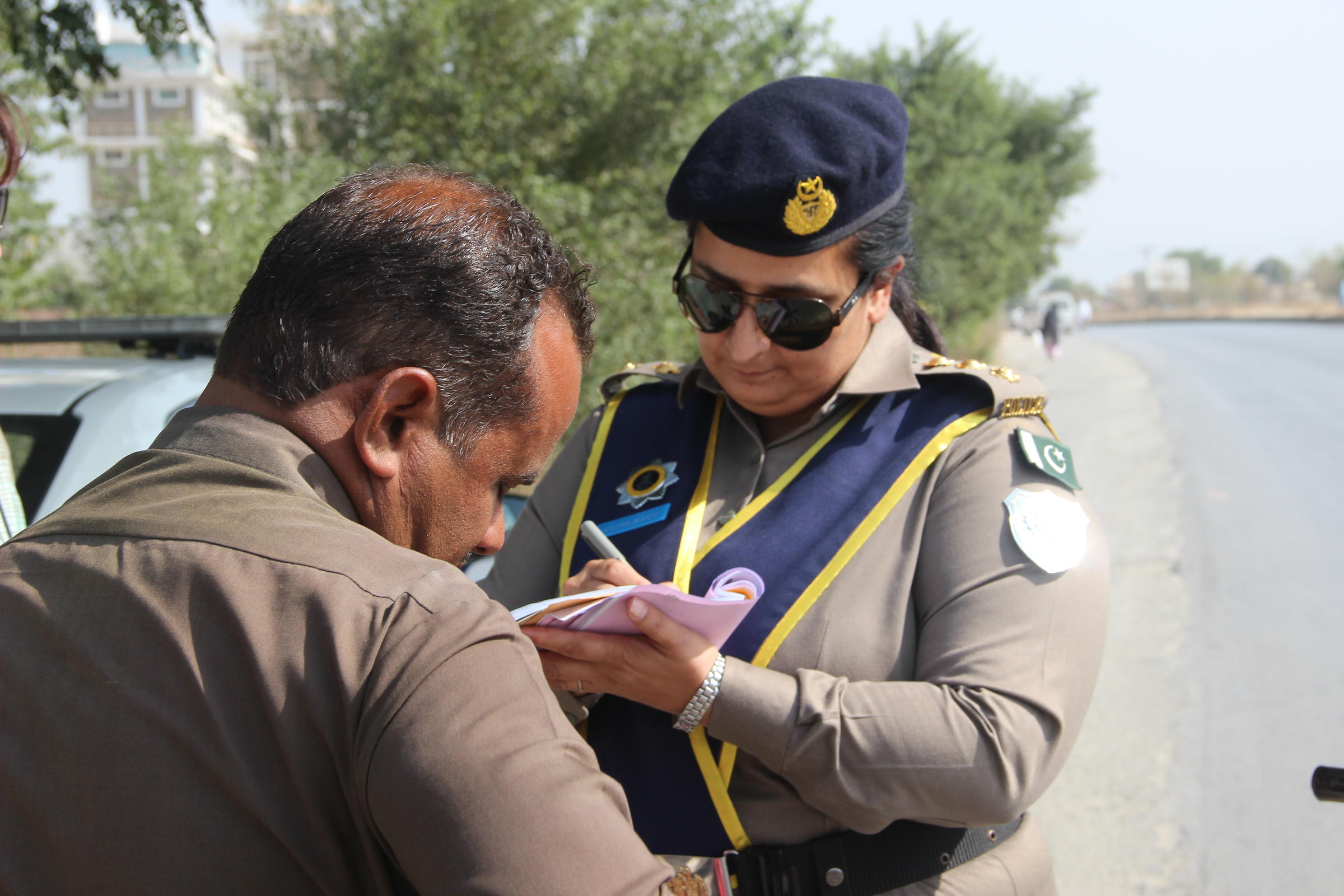This Pakistani police officer is on the leading edge of a trend