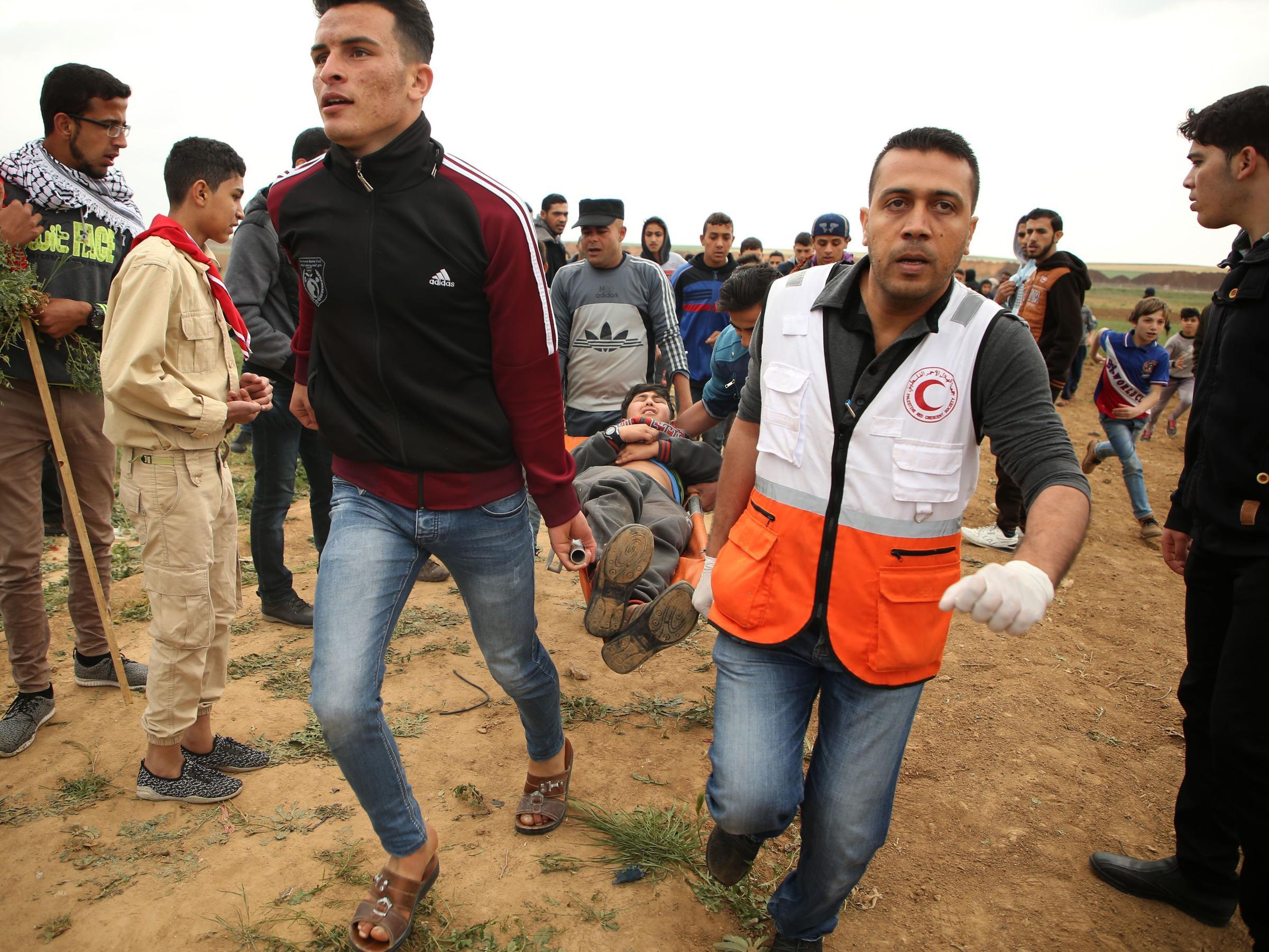 Amr Fawzi at least 16 palestinians killedisraeli troops in