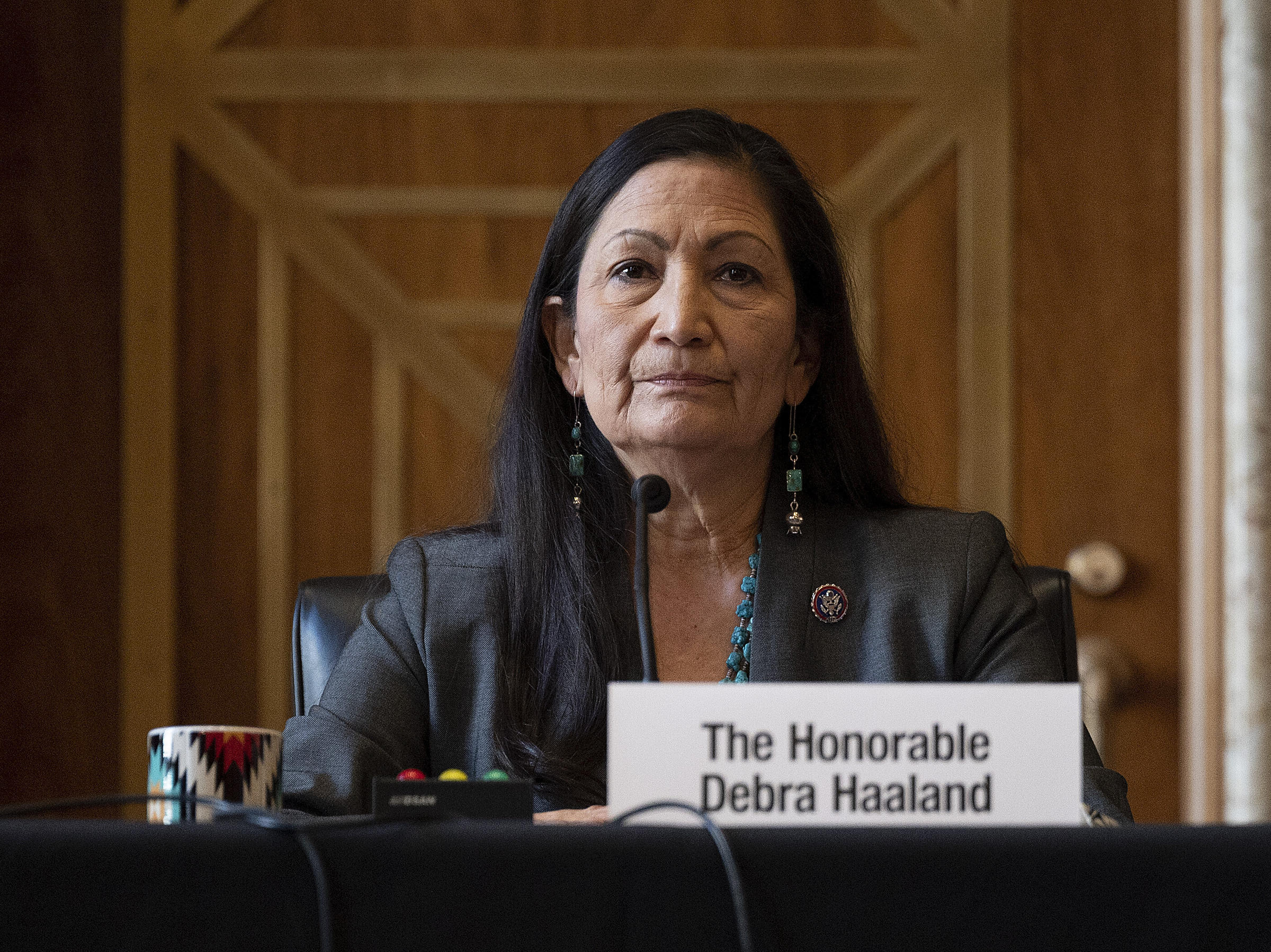 Haaland confirmation hearings wrap up, no vote yet