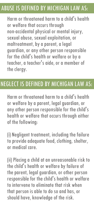 A guide for parents involved in Michigan's child welfare