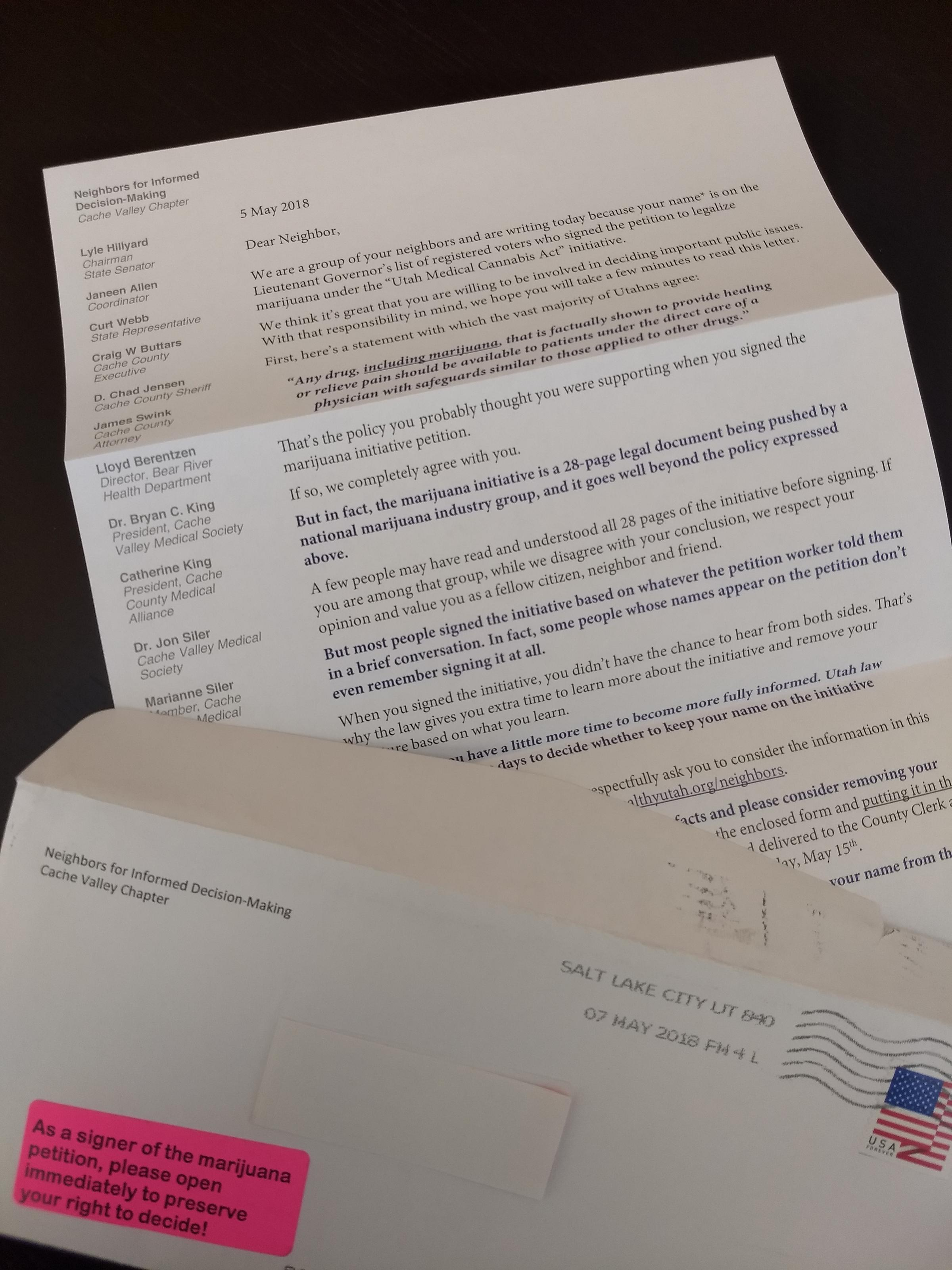 Ballot Initiative Letter Campaign Being Reviewed By Lt  Governor's