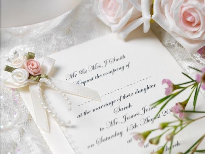 Wedding Guests Lists Force People To Make Difficult Choices So Getting An Invite Is