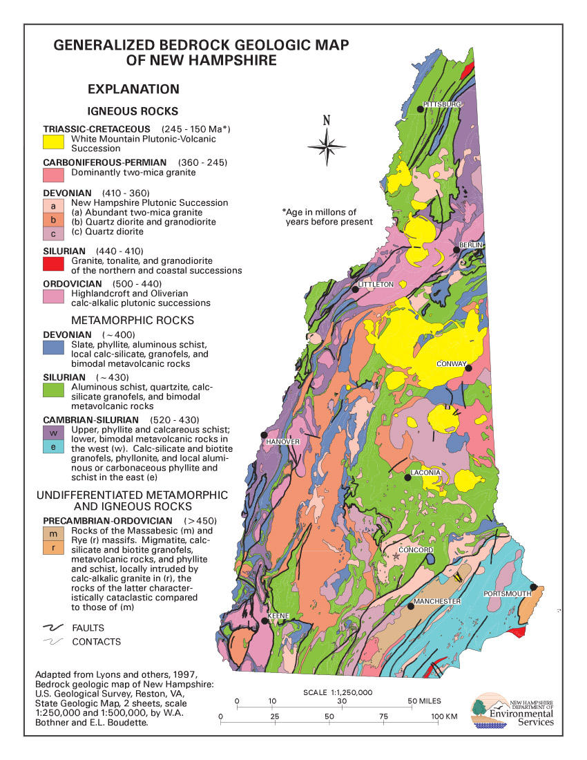 geologic map of vermont How Has The Geology Of Vermont Affected Its Character Vermont geologic map of vermont