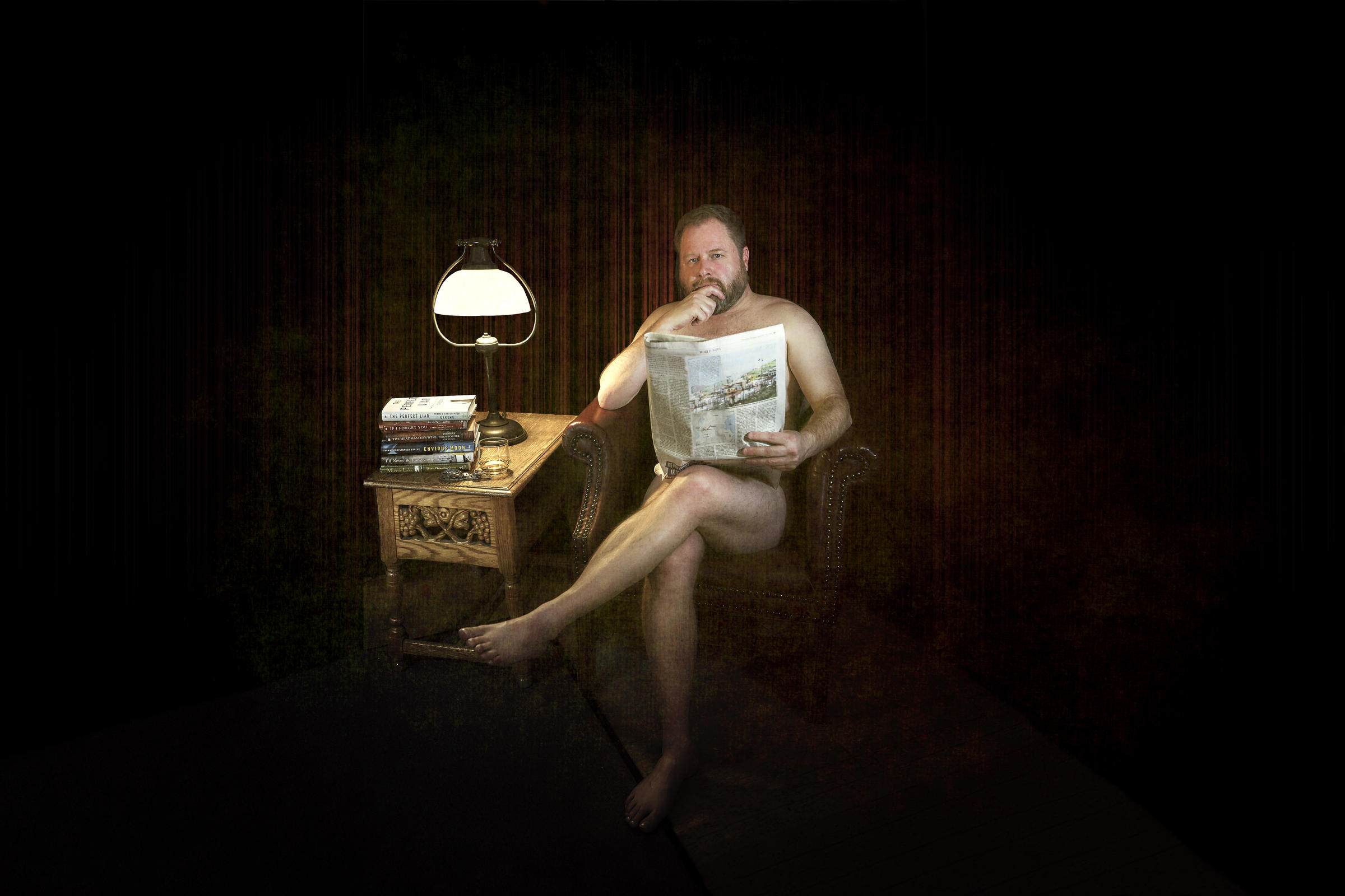 Amy Walker Naked going coverless: library fundraises with 'tastefully' nude