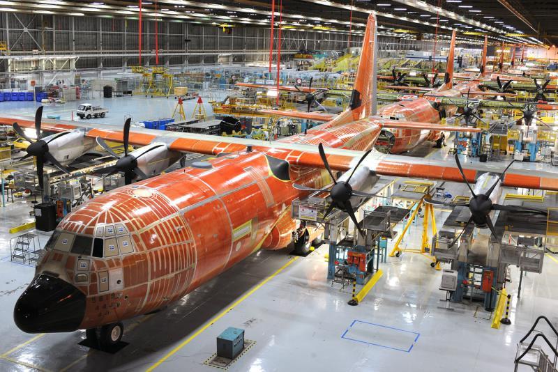 Marietta's Lockheed Martin facility has built variants of the C-130 since the mid-1950s.