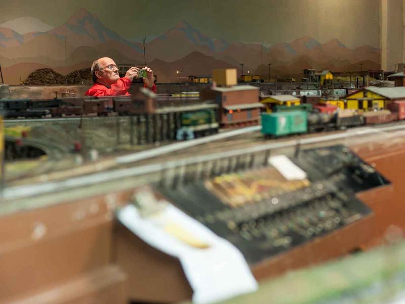 Model trains in Atlanta