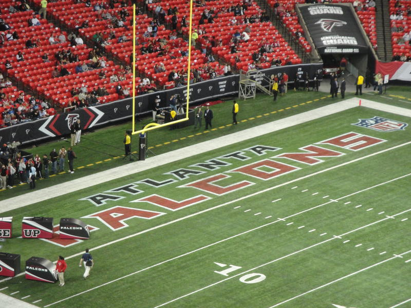 Prime 50-yard line seats at the Georgia Dome will go on sale for $45,000 on Monday.