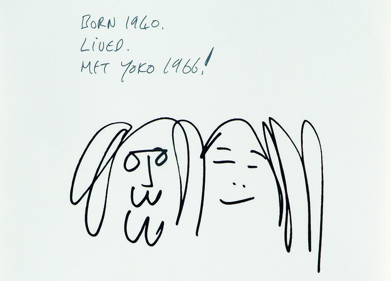 Yoko Ono Discusses Roswell S Art Of John Lennon Auction Wabe 90 1 Fm